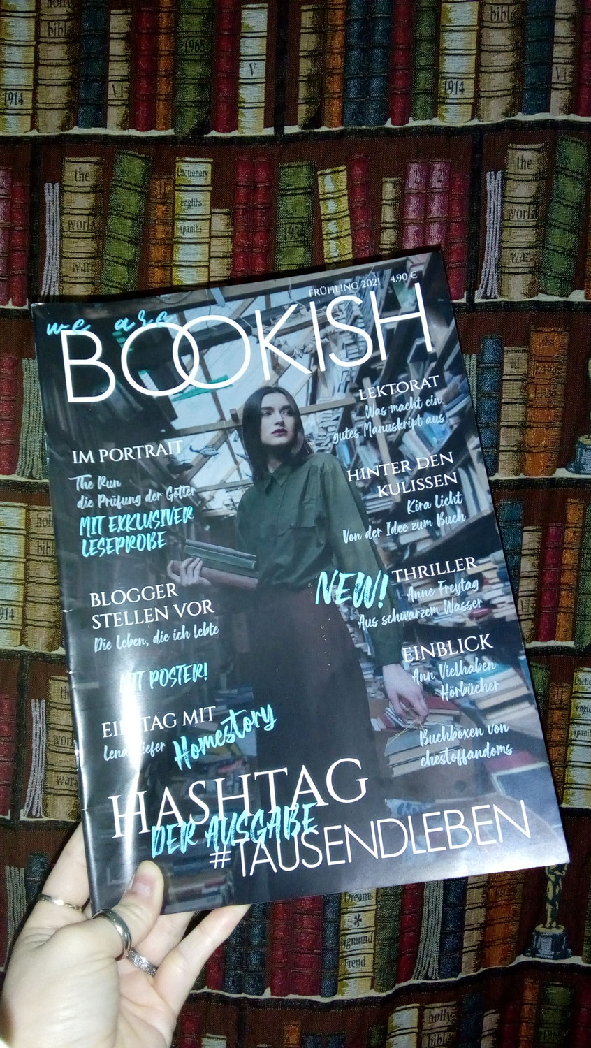 Rezension: We are Bookish Magazin