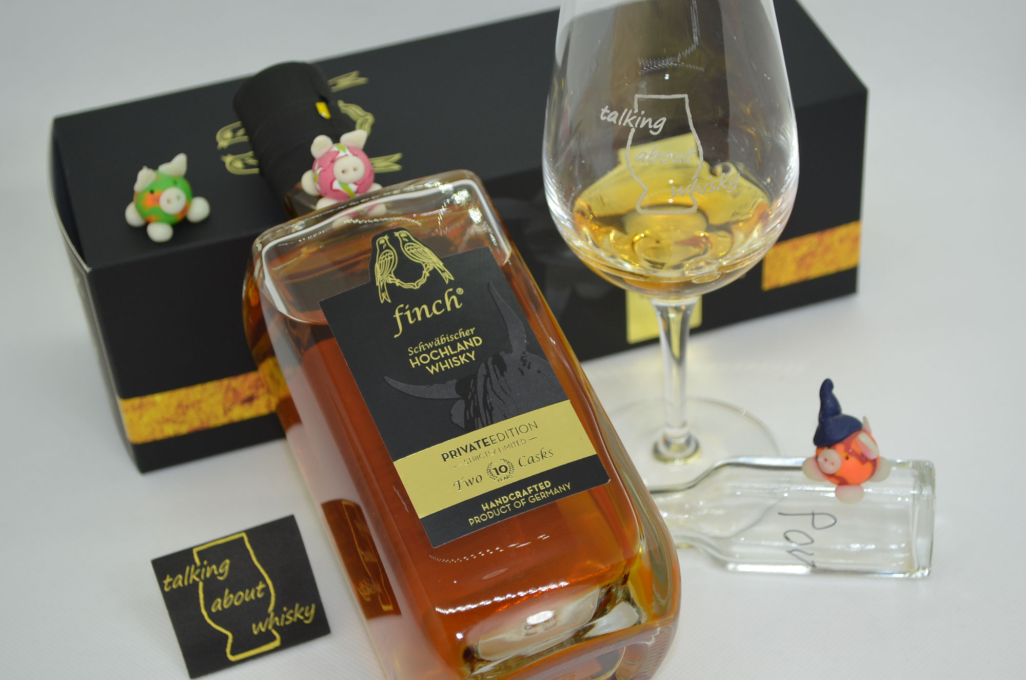 Quick-Notes - finch® Two Casks 10 Jahre - Private Edition