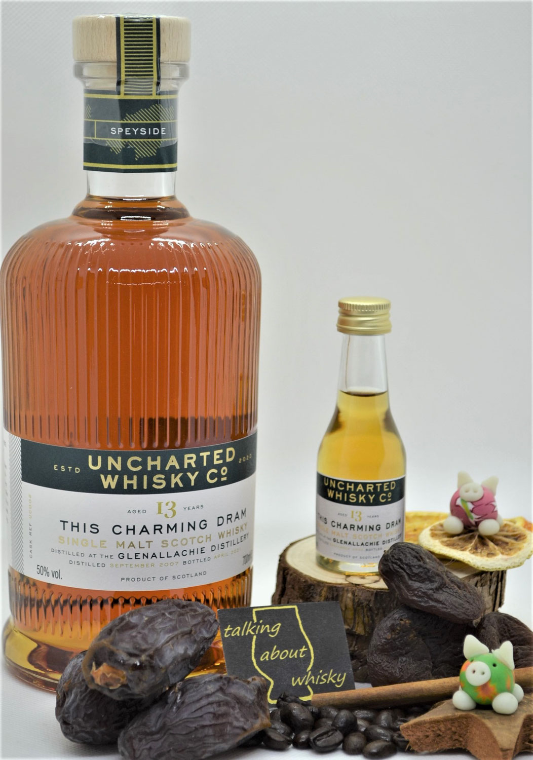 Quick-Notes - Glenallachie 13 Jahre - 'This charming Dram'