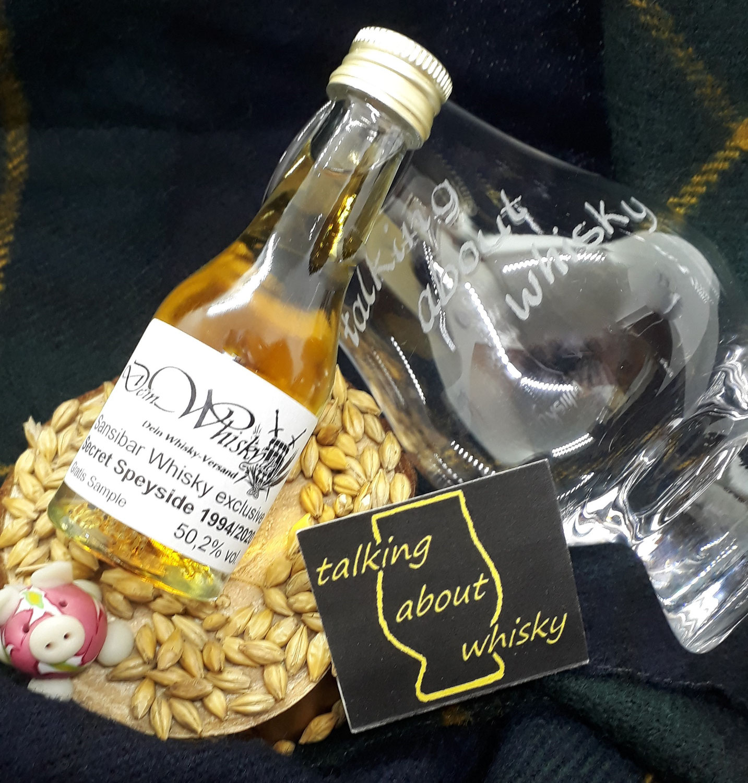 Quick-Notes - Secret Speyside 1994/2020 - Sansibar Whisky für deinwhisky.de