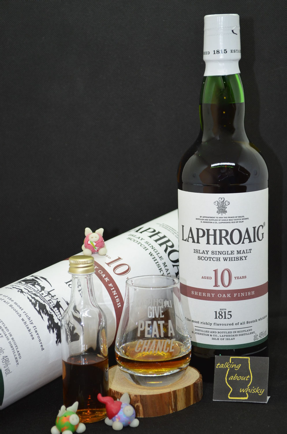 Quick-Notes - Laphroaig 10 Jahre Sherry Oak Finish