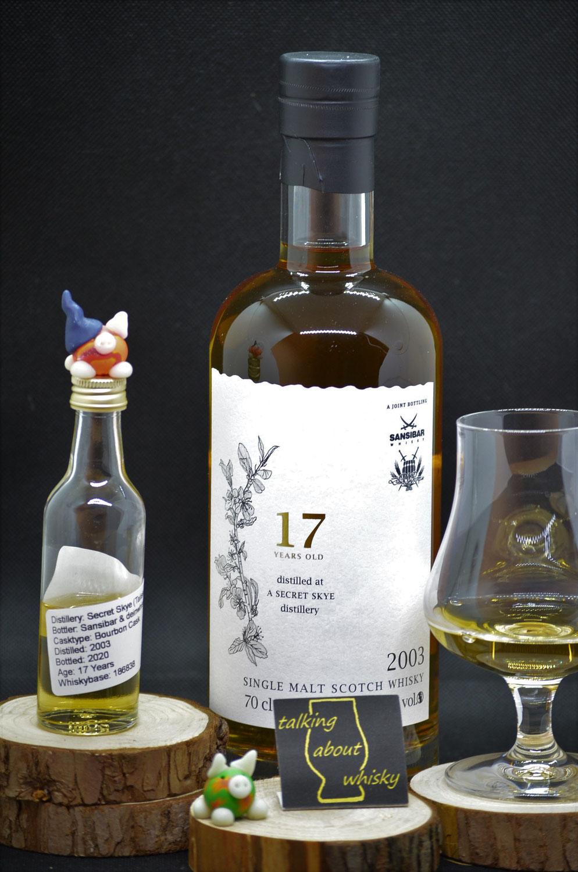 Quick-Notes - Secret Skye 17 Jahre Sansibar & deinwhisky.de