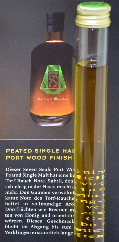 Quick-Notes - Seven Seals Peated Single Malt