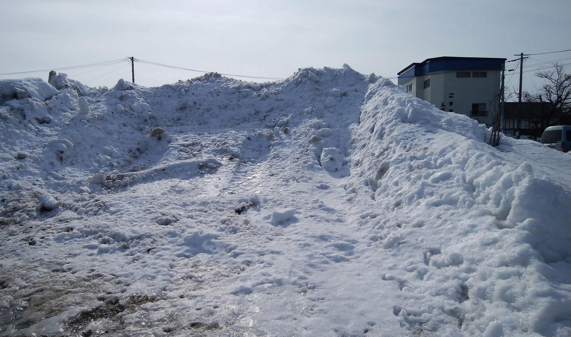 さすがに雪が多い!