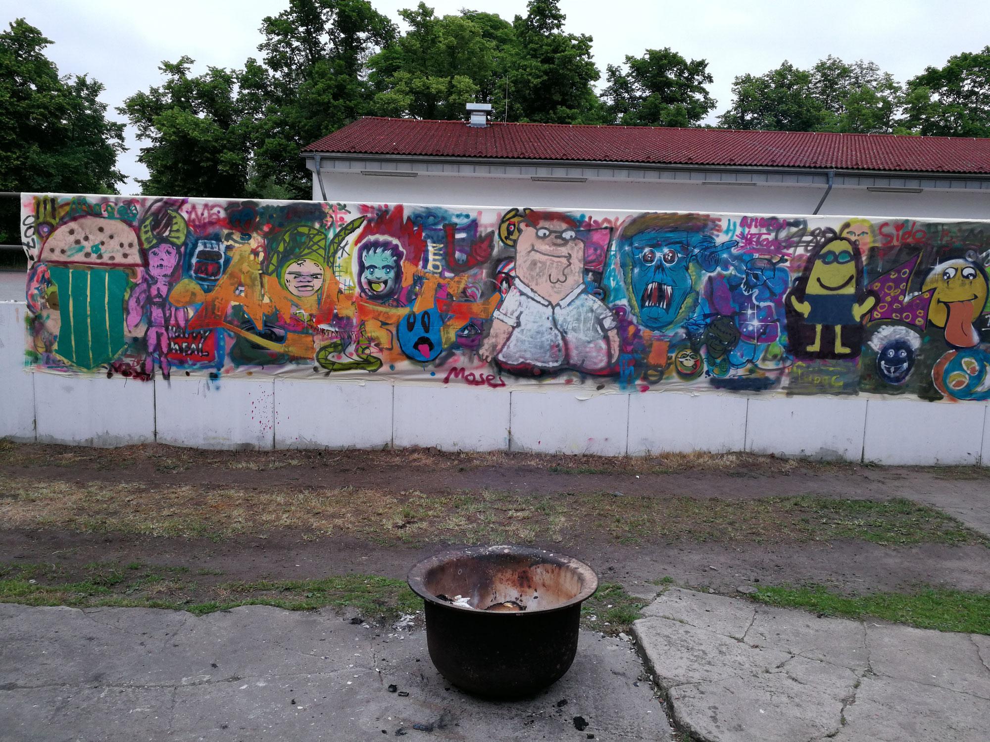 Graffiti Workshop gesucht für Veranstaltungen und Fassaden