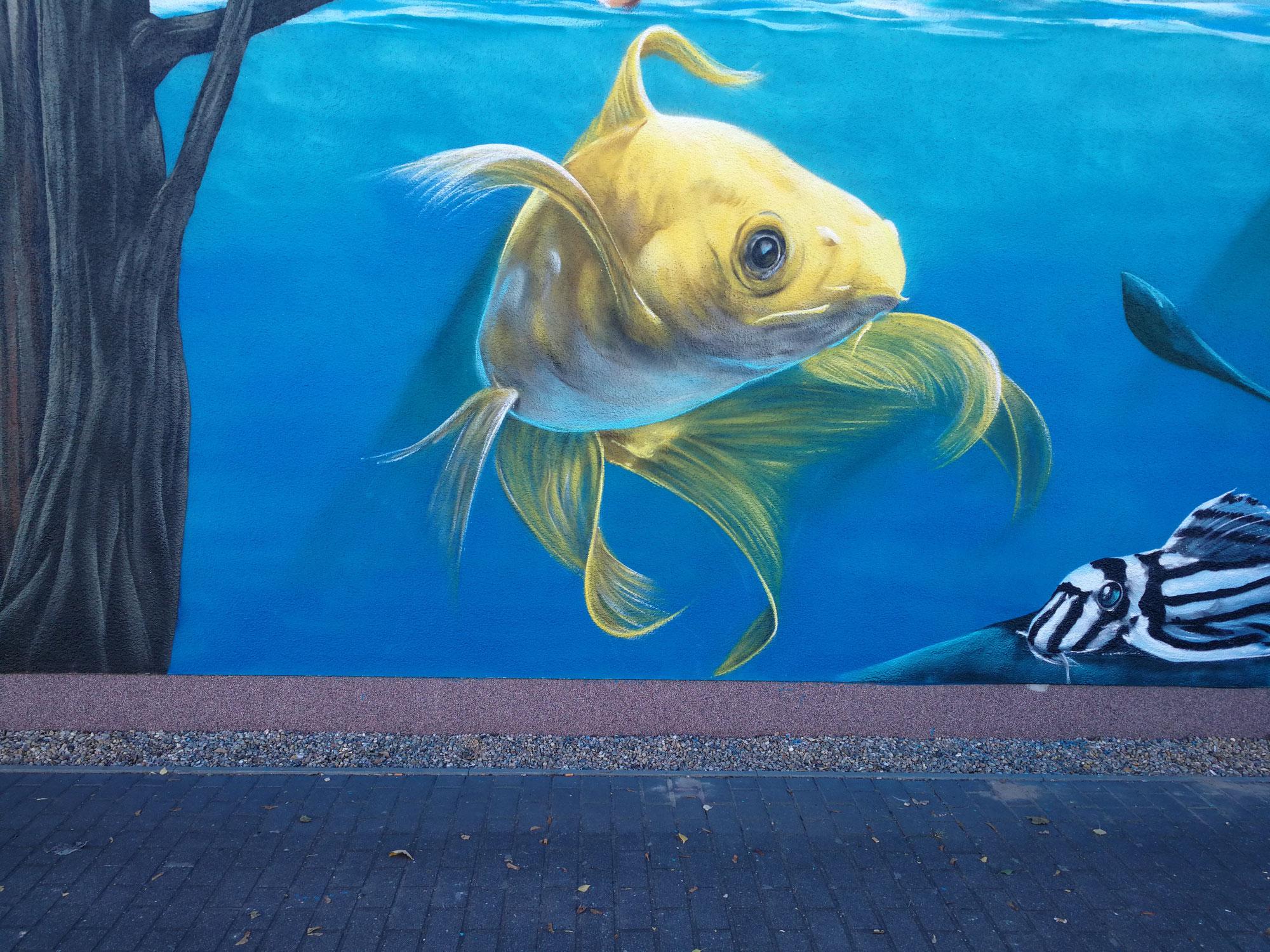 Fassadenkunst Innenraumgestaltung Graffiti Malerei Berlin