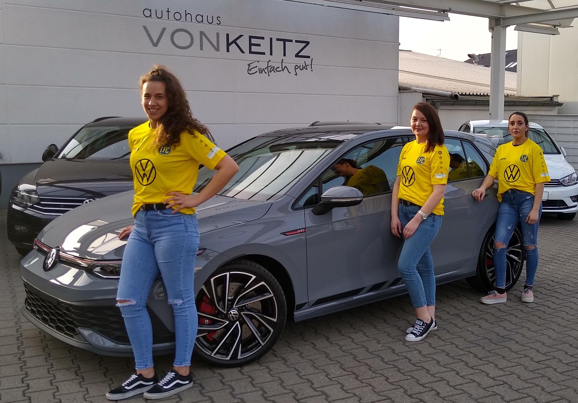 """""""Autohaus Von Keitz"""" unterstützt EFF-ZEH-Frauenfußball!"""