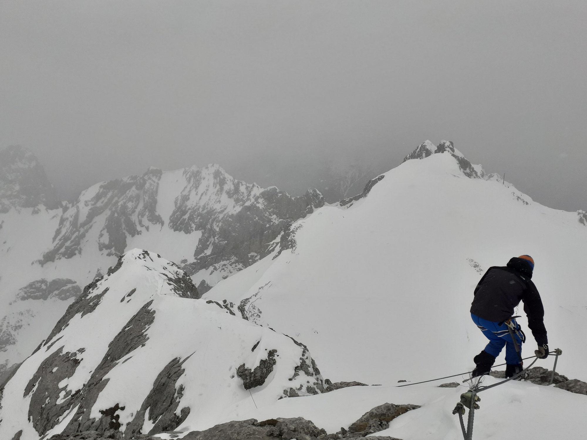 Westliche Karwendelspitze 2385m
