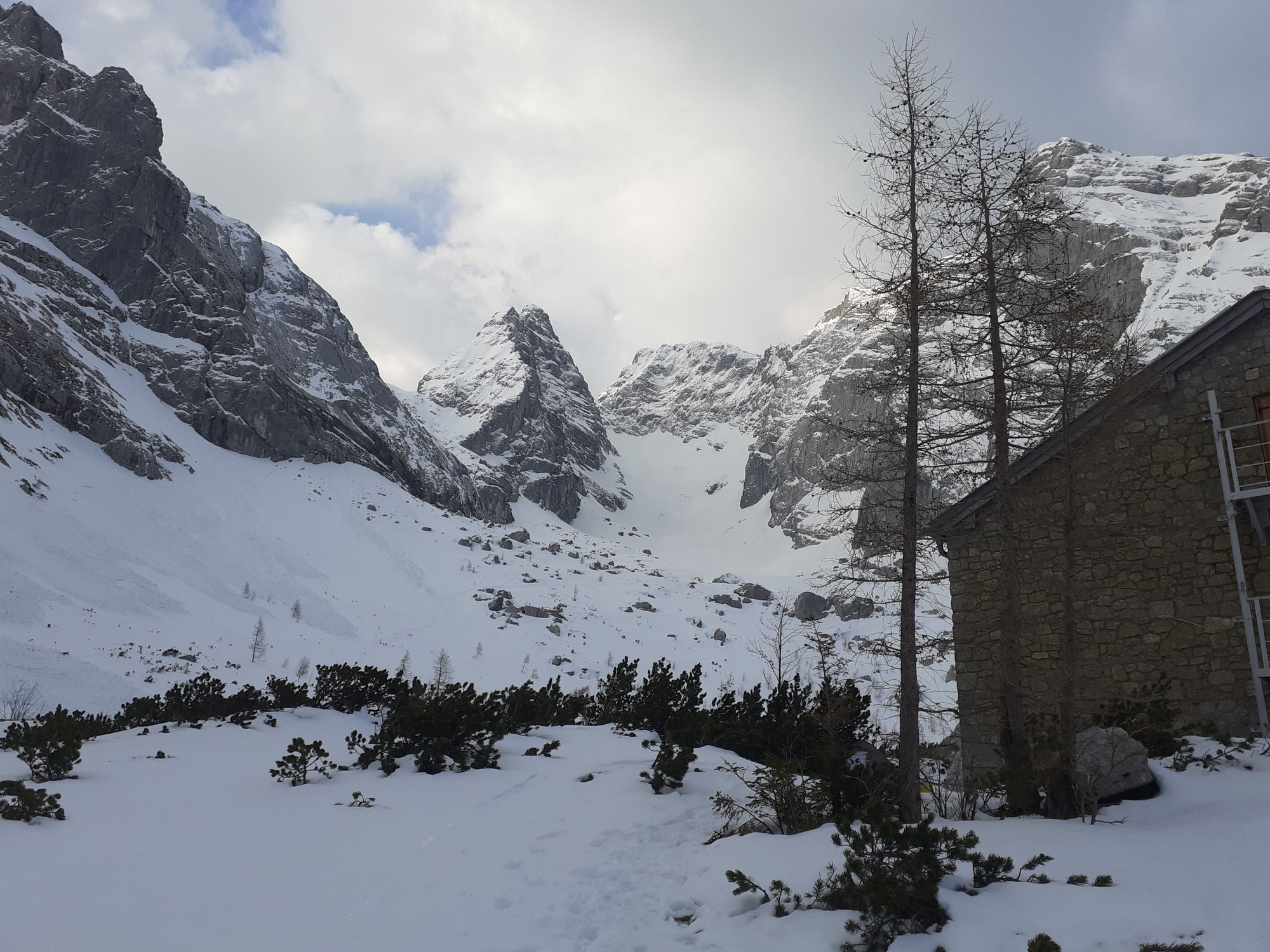 Skitour Blaueisspitze über Blaueisgletscher