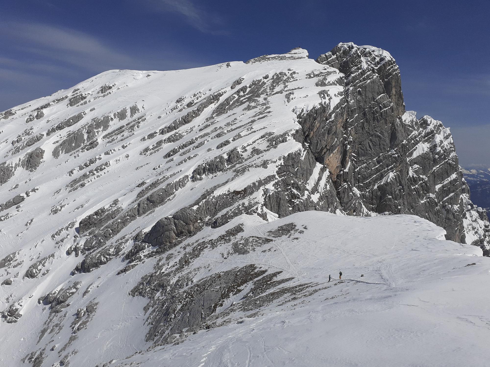 Skitour Steintalscharte mit Ofentalhörndl