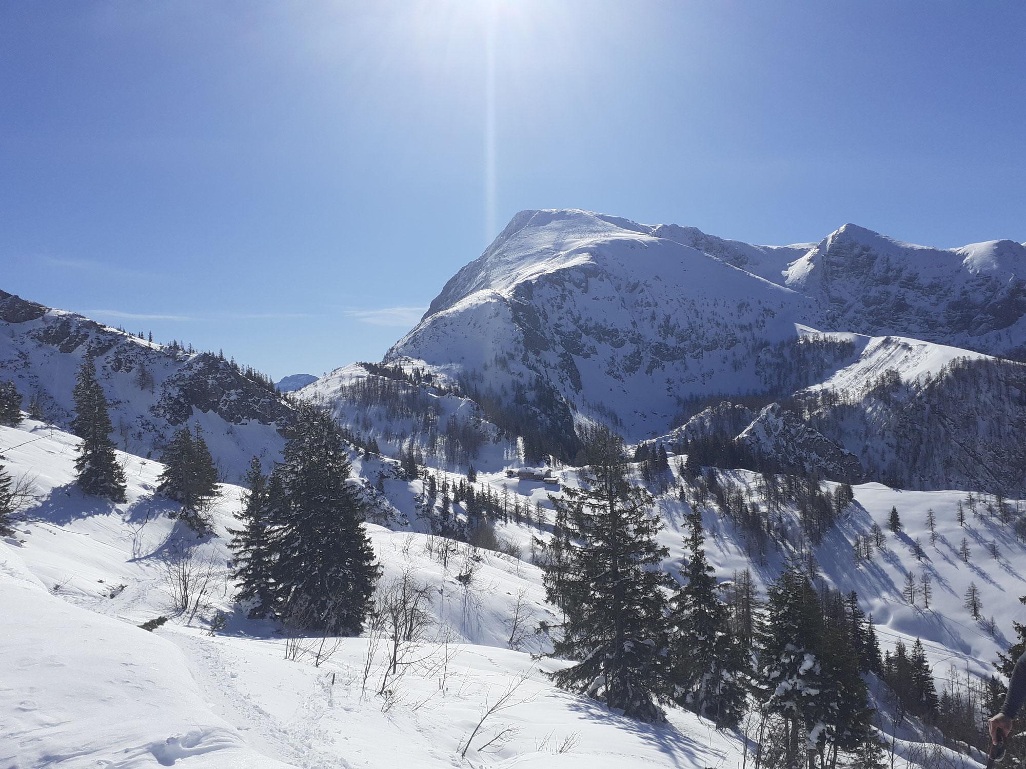 Klassische kleine Berchtesgadener Reibn