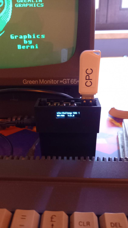 CPC 6128 - USB FloppyEmulator