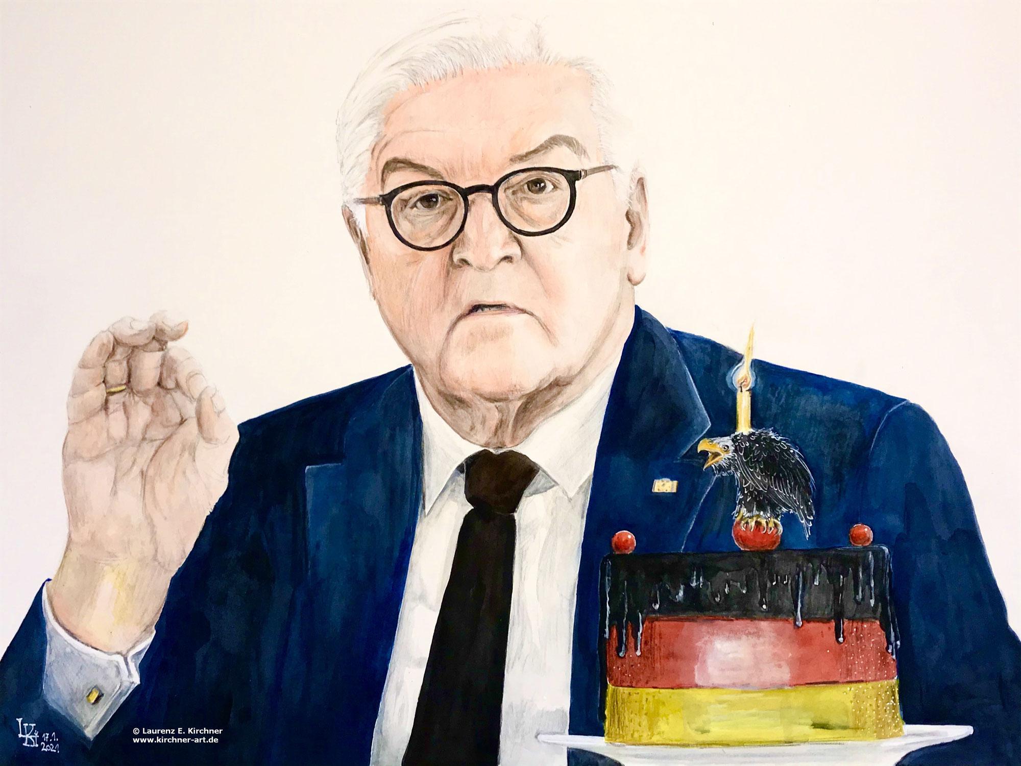Bundespräsident - Geburtstag der Kunst - Art's Birthday - Anniversaire de l'art