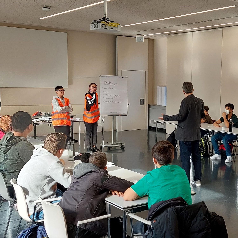 Workshop in der Arbeiterkammer: Gemeinsam sind wir stark