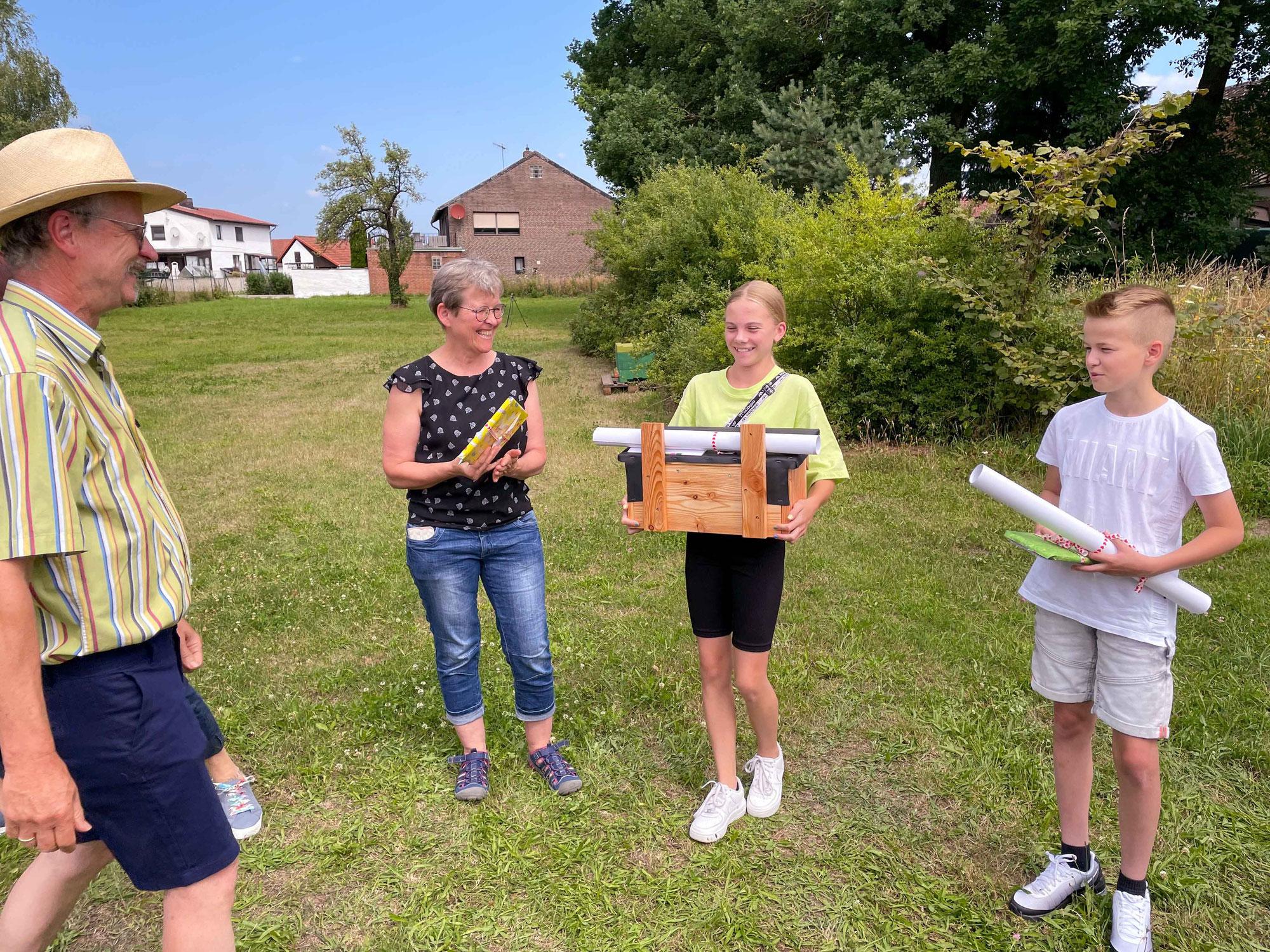 Jule Lenz ist Siegerin beim Umweltquiz des Fördervereins