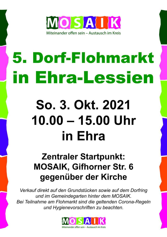 5. Dorfflohmarkt in Ehra-Lessien