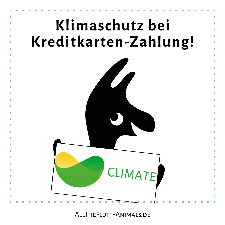Klimaschutz bei Kauf mit Kreditkarte