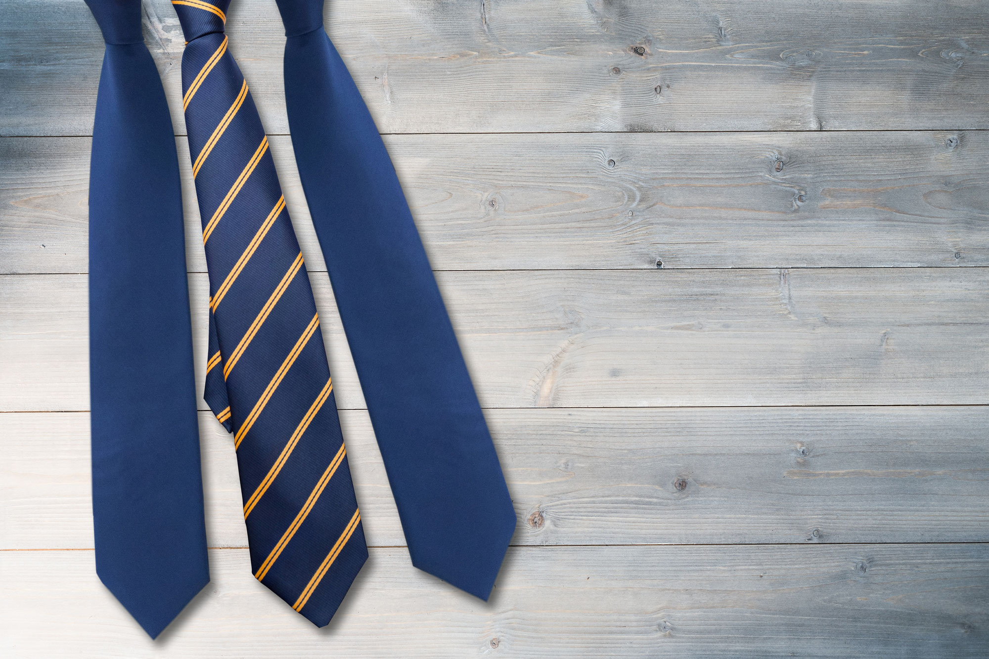 ネクタイの楽しみ方