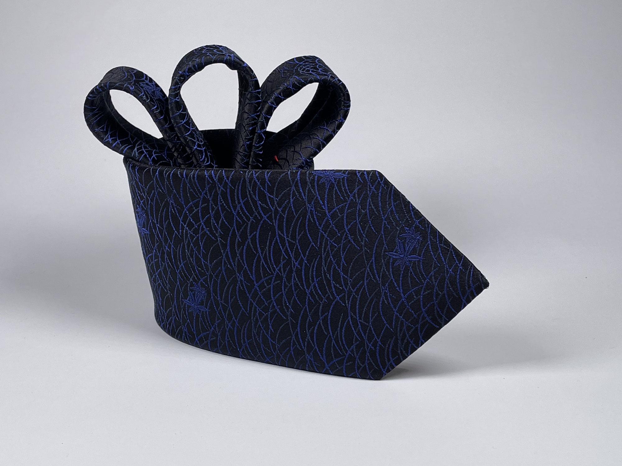西陣織天然素材オリジナルネクタイ