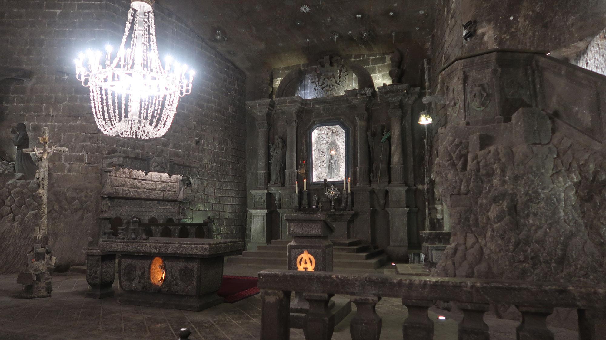 La traversée de la Pologne - La mine de Wieliczka