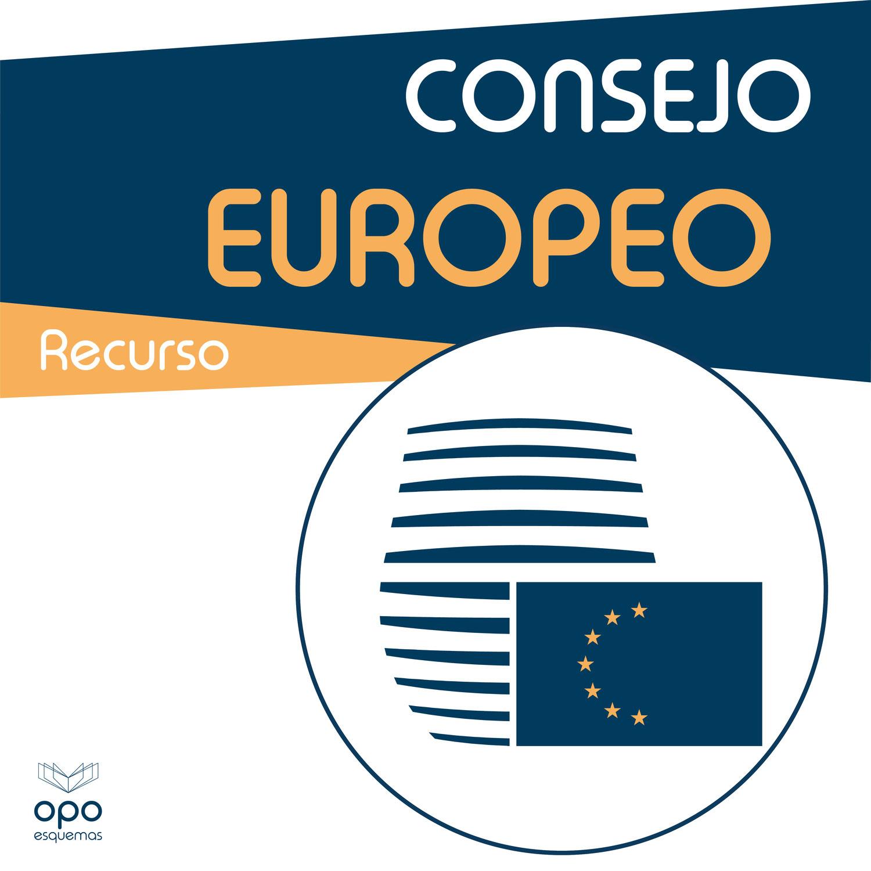 Esquemas Oposiciones Gratis. Consejo Europeo