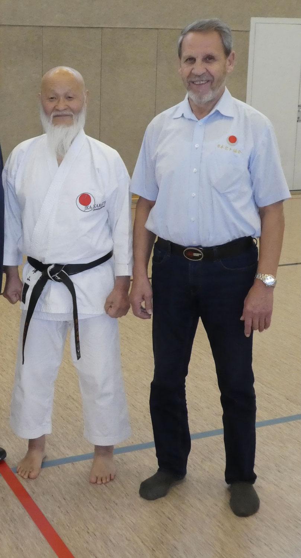 Sensei Franz Osarko - 50Jahre traditionelles Shotokan Karate