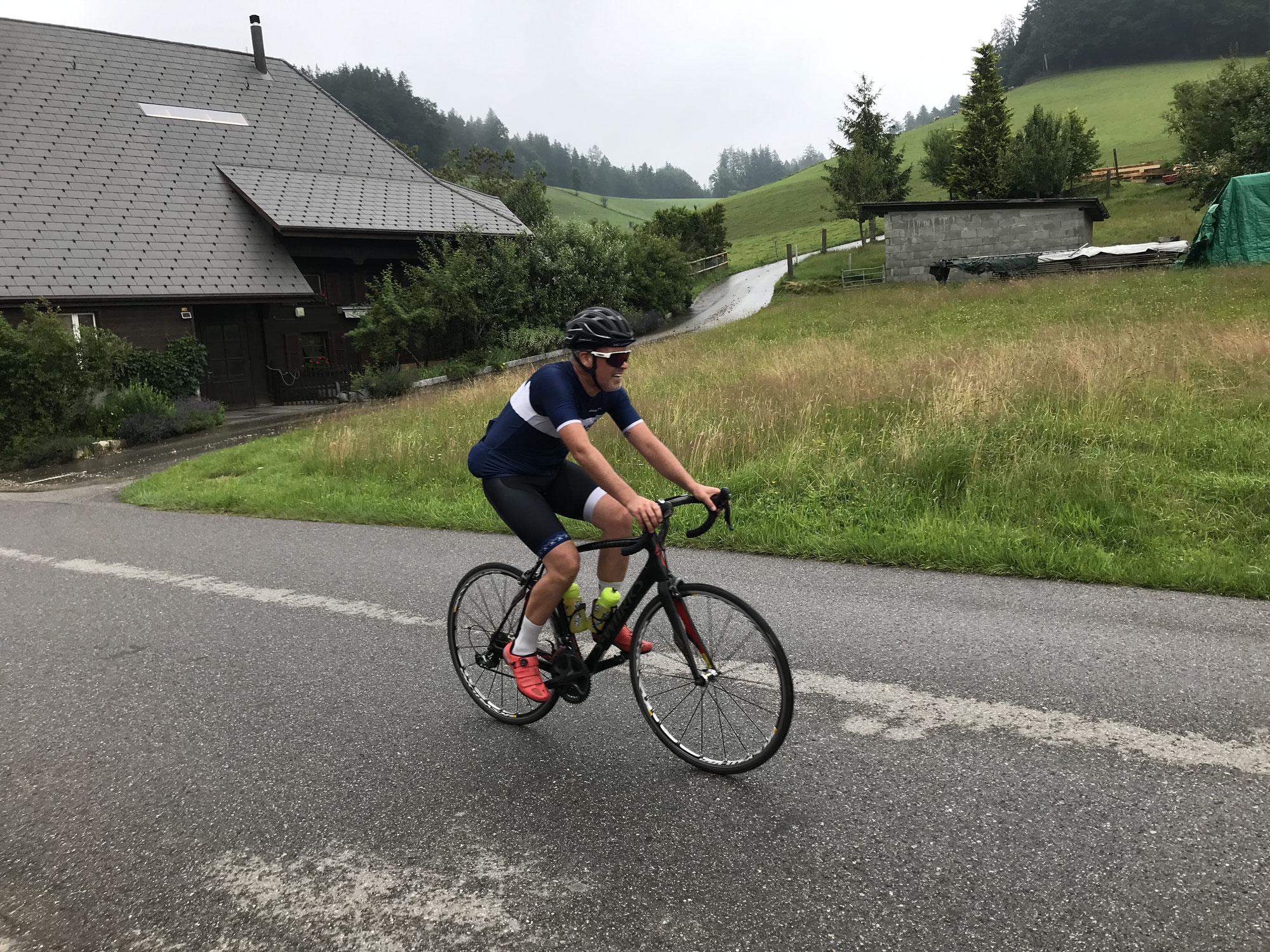 Schweiss, Pasta und Tour de France