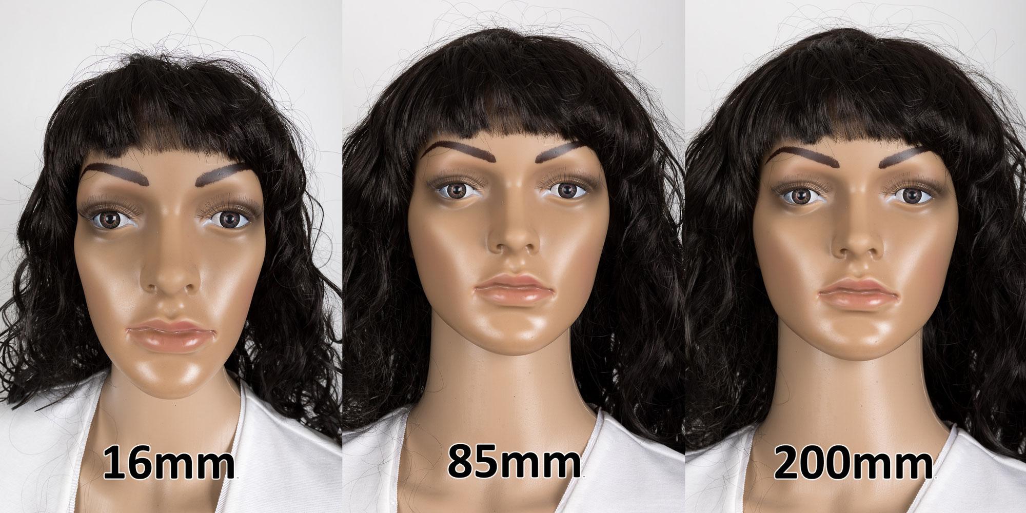 Ideale Brennweite für Portraits
