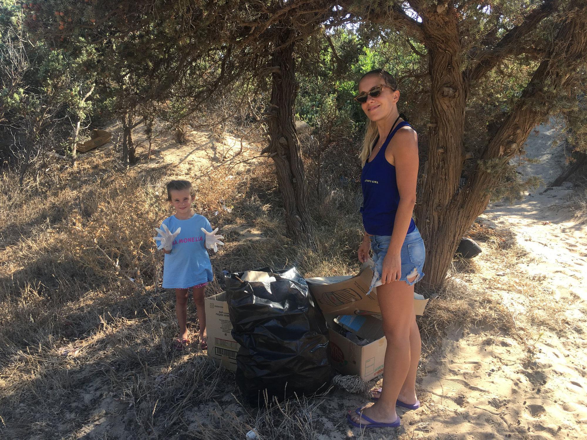 Save the planet: puliamo la nostra isola
