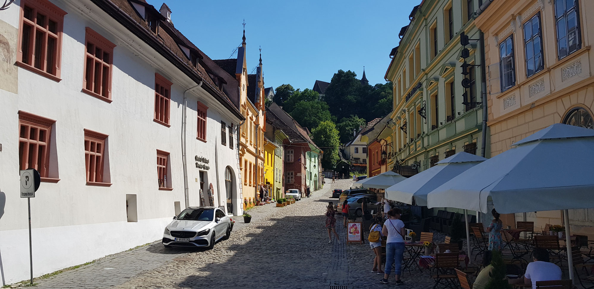 Sighișoara / Schäßburg - Die Heimat Dracula's