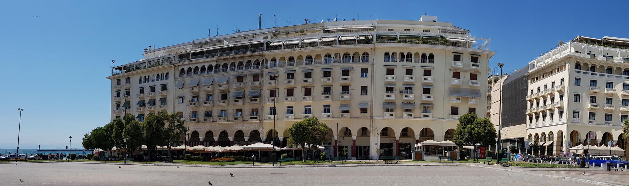 April in Thessaloniki - Leben mit dem Corona-Lockdown