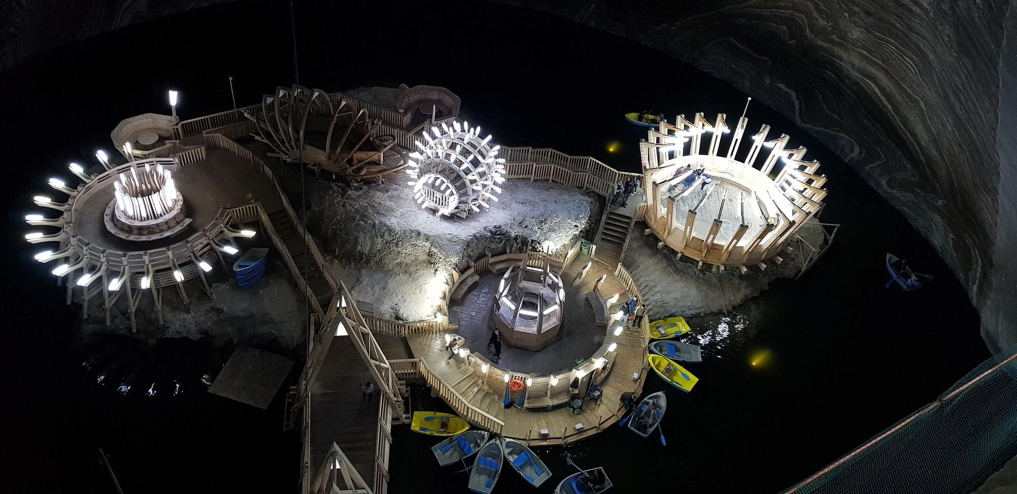 Das Salzbergwerk Turda - Rummelplatz der Außerirdischen