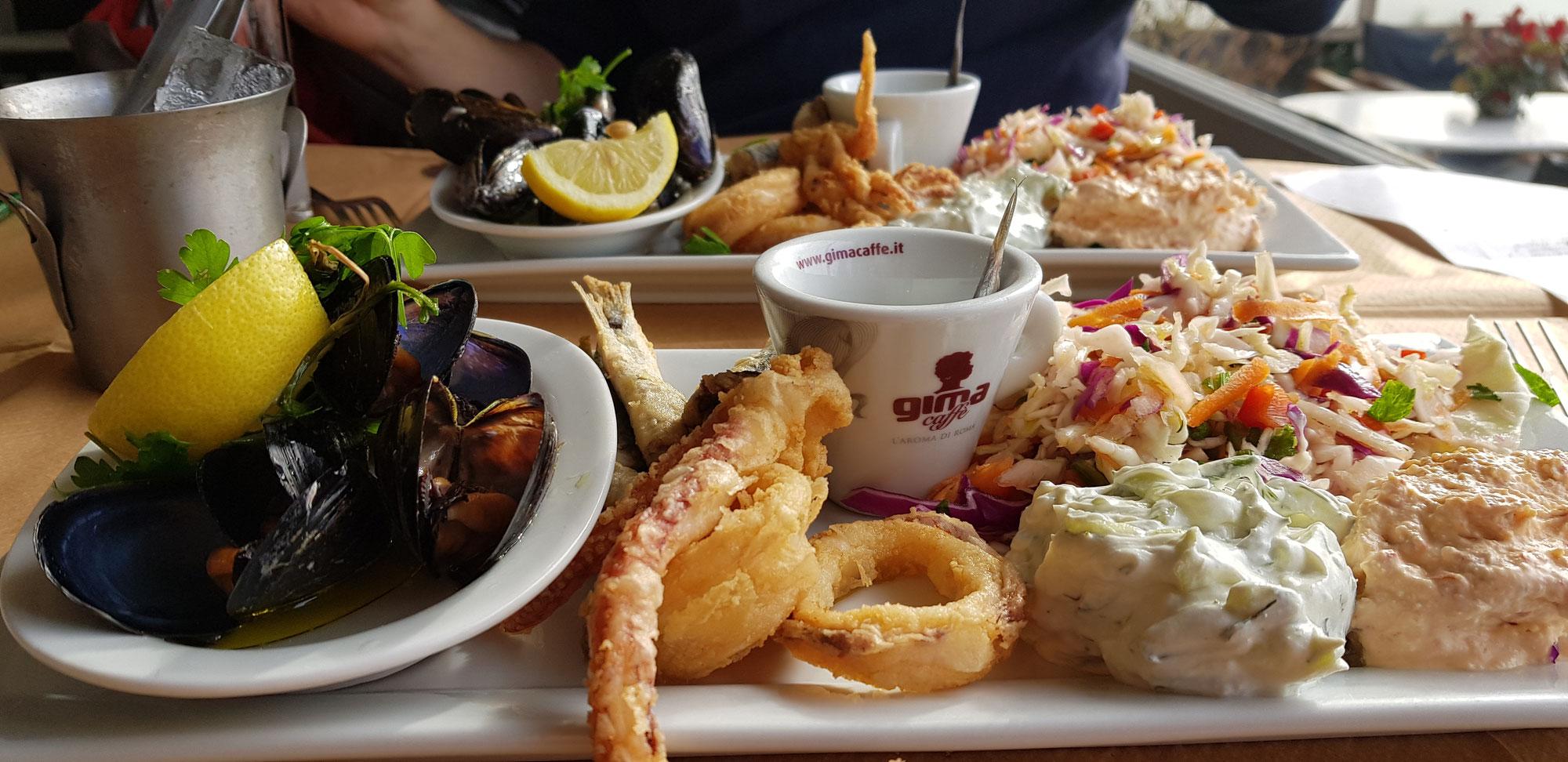 Fisch Fisch Fisch - Nea Michaniona - Von Thessaloniki nach Chalkidiki