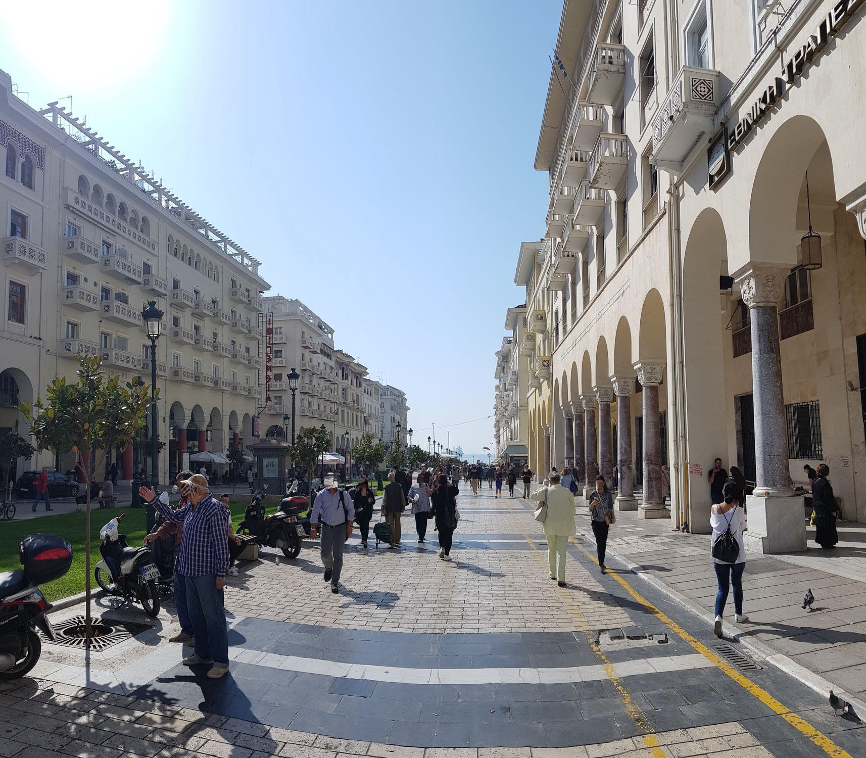Städtetrip Thessaloniki - Zentrum