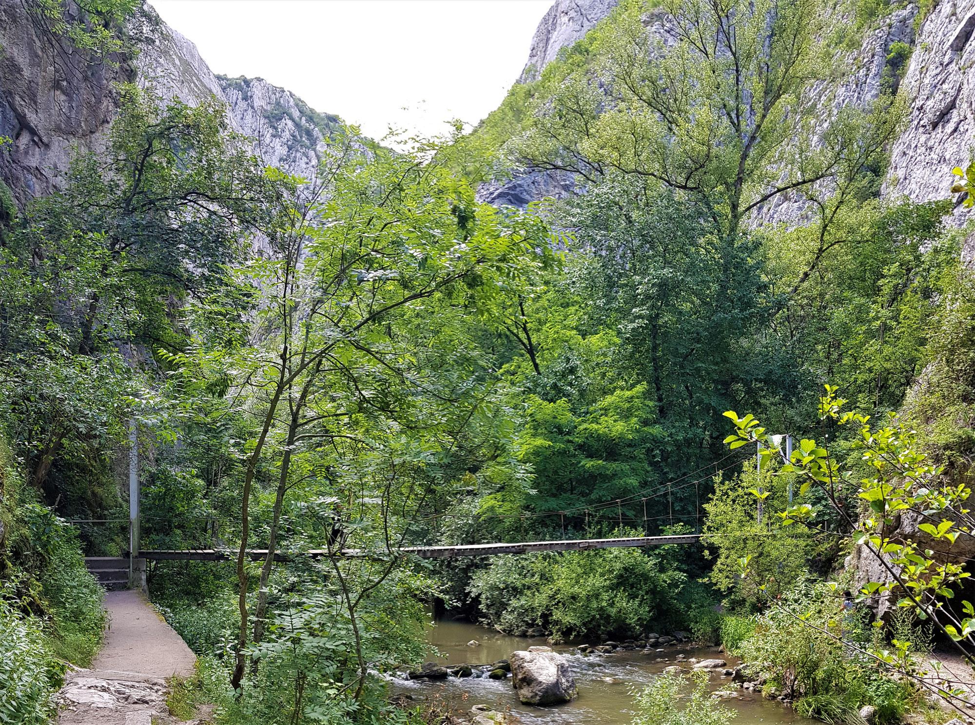 Ceile Turzii / Thorenburger Schlucht - Wandern in der Klamm