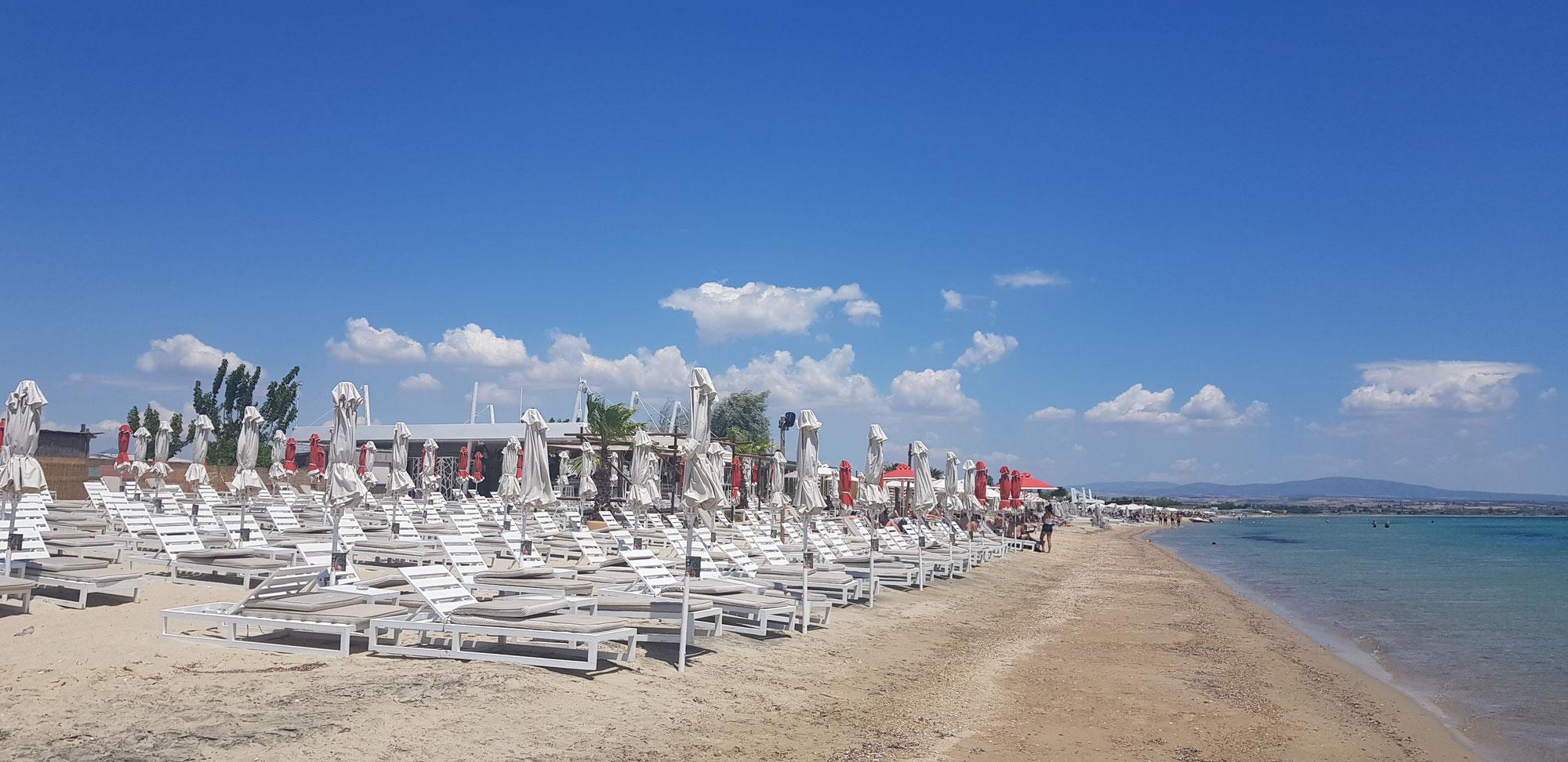 Juni in Thessaloniki - Ab in den Ofen