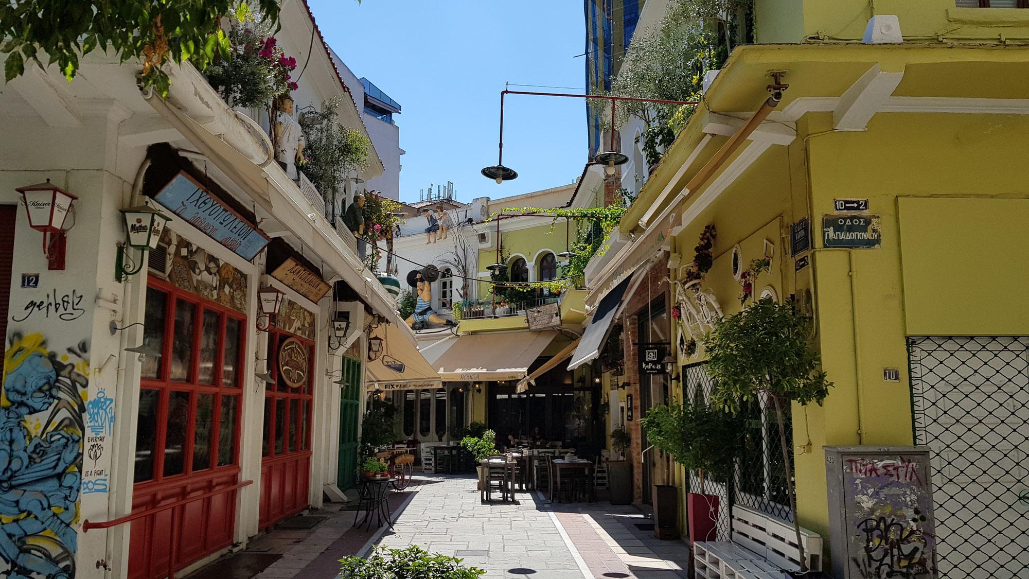 Thessaloniki - Großstadtschock!