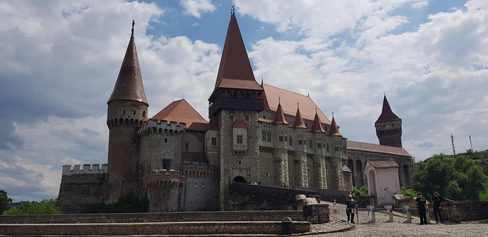 Die Burg Hunedoara  / Corvinilor - Hollywood in Rumänien