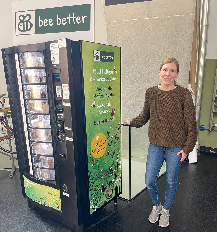 Automat in der Markthalle Basel