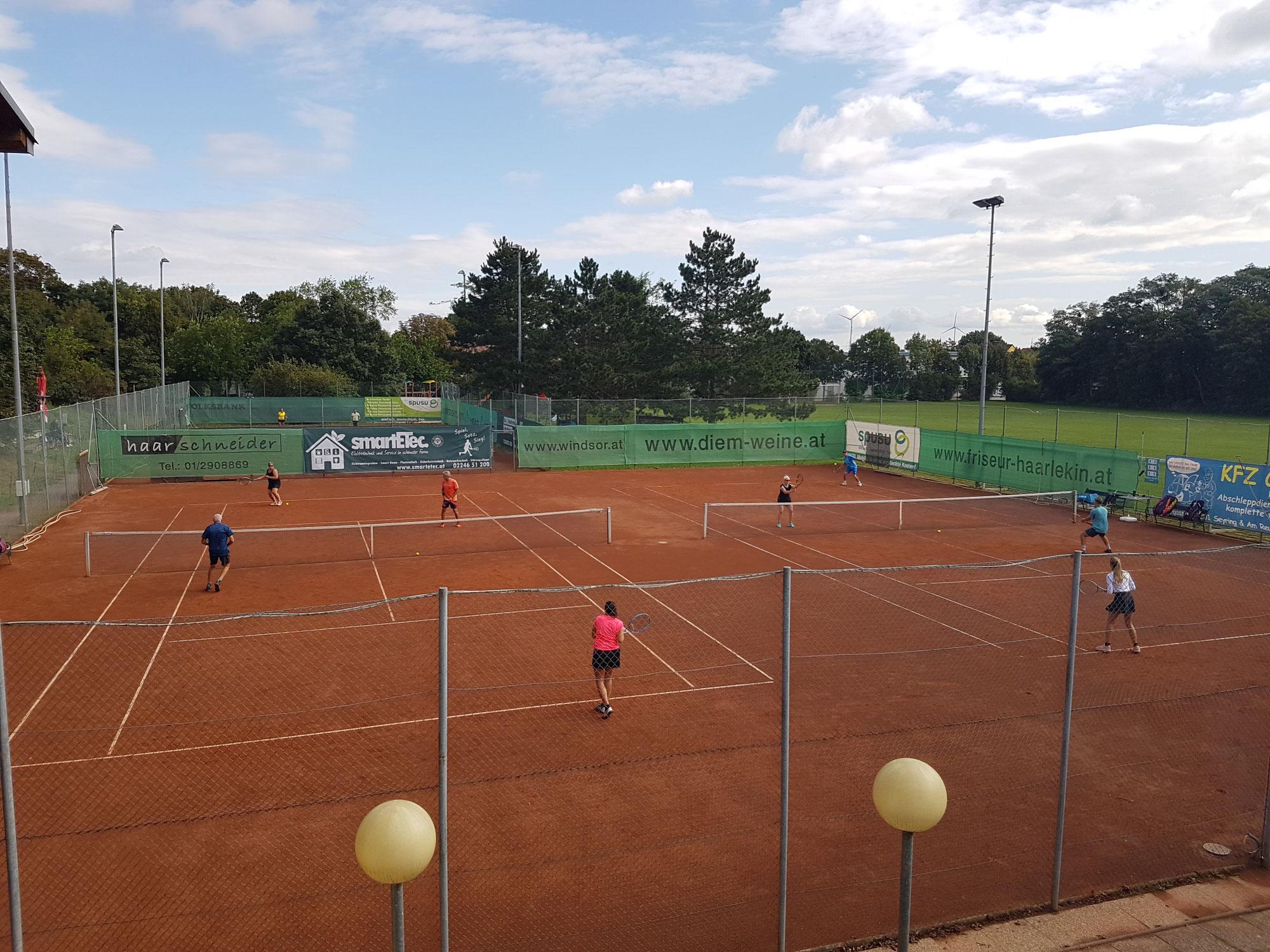Mixed Doppel Turnier