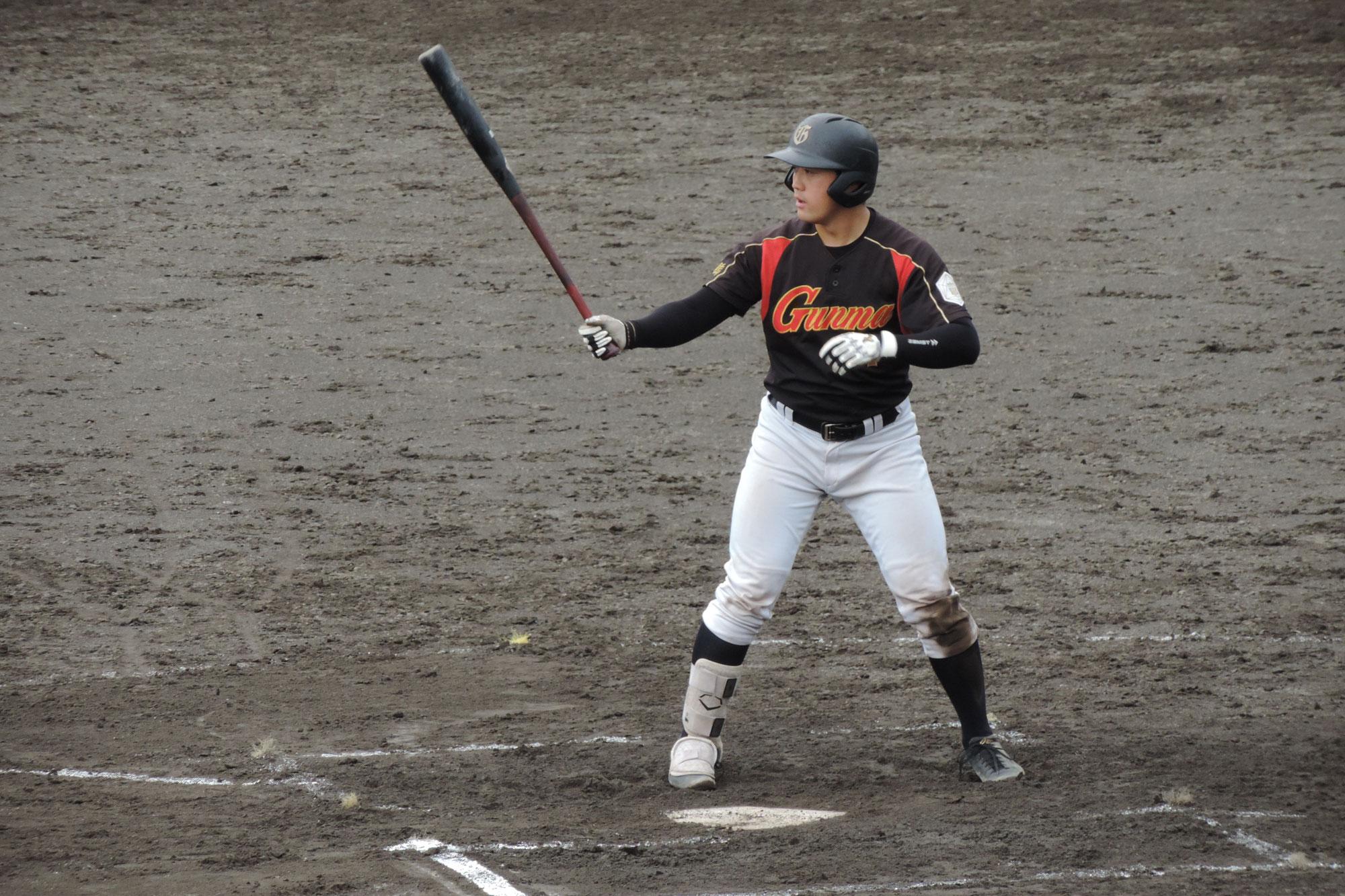群馬ダイアモンドペガサス・戸松克仁選手(21年卒)がプロの世界で奮闘中