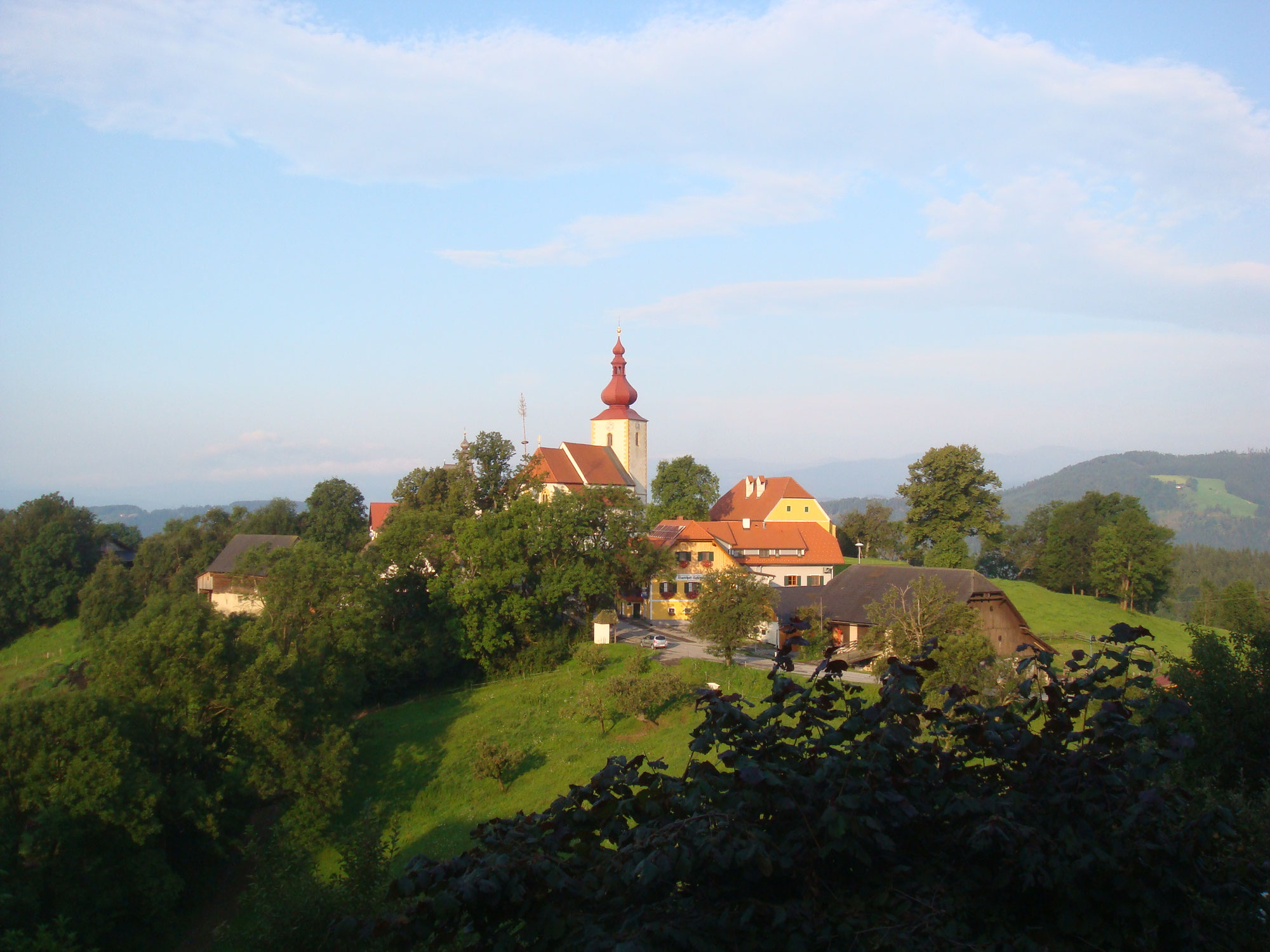 1 Etappe Weststeirischer Jakobsweg Thal Bei Graz St Pankrazen