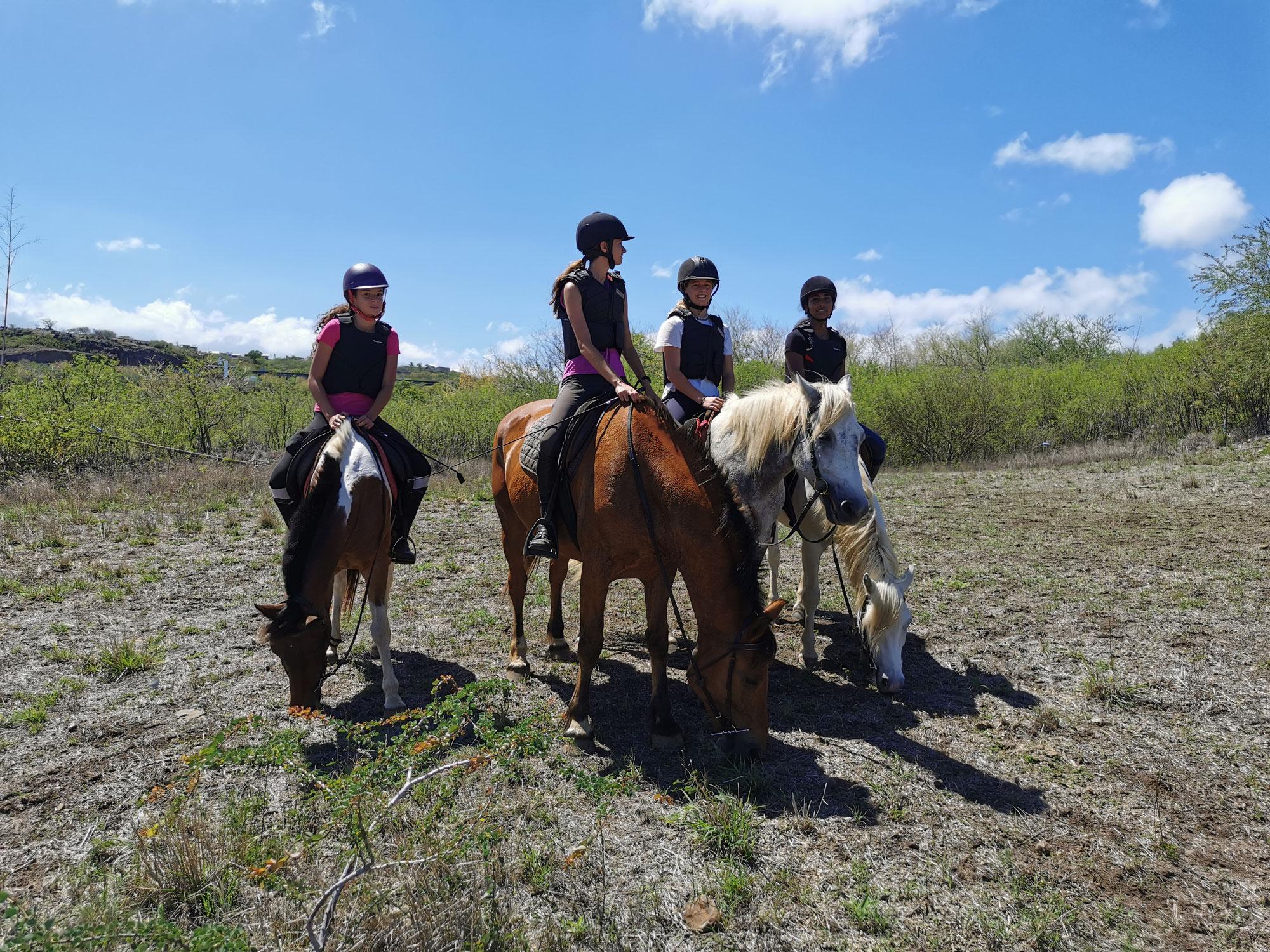 Stage equitation de pleine nature
