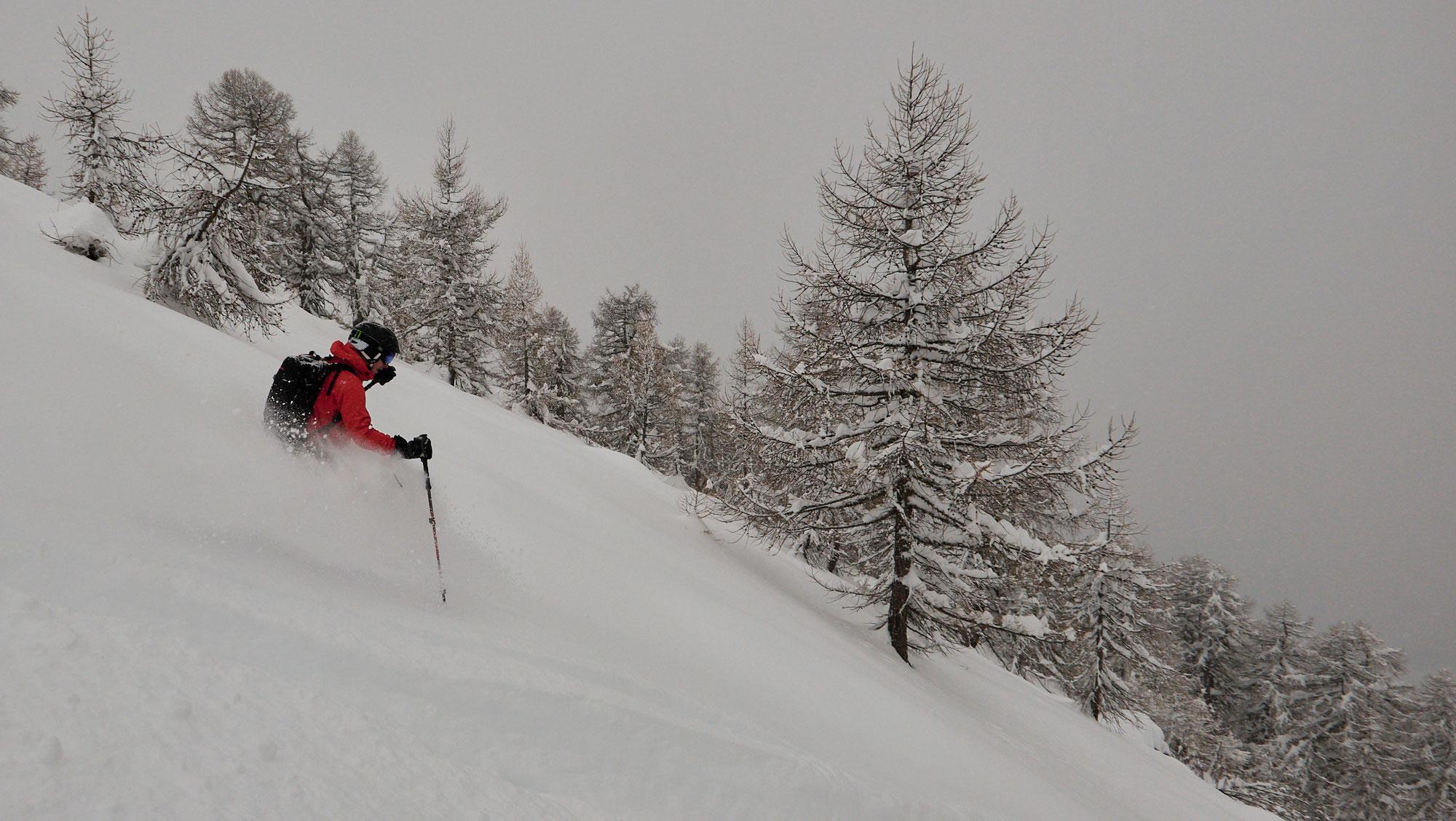 Skitour Ärnergale ab Talstation Fürgangen-Bellwald