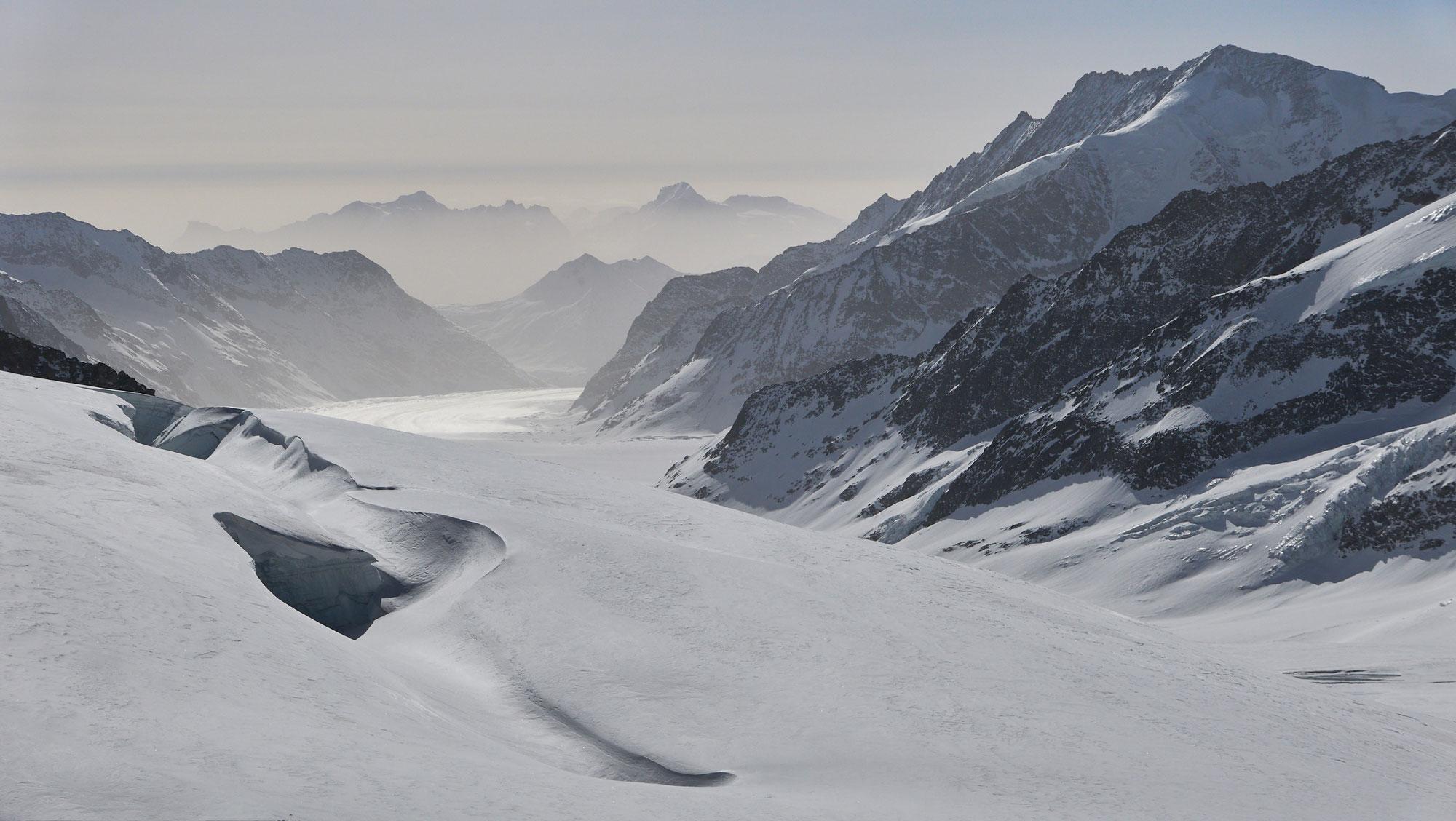 Jungfraujoch - Louwihorn - Mittaghorn - Lötschental
