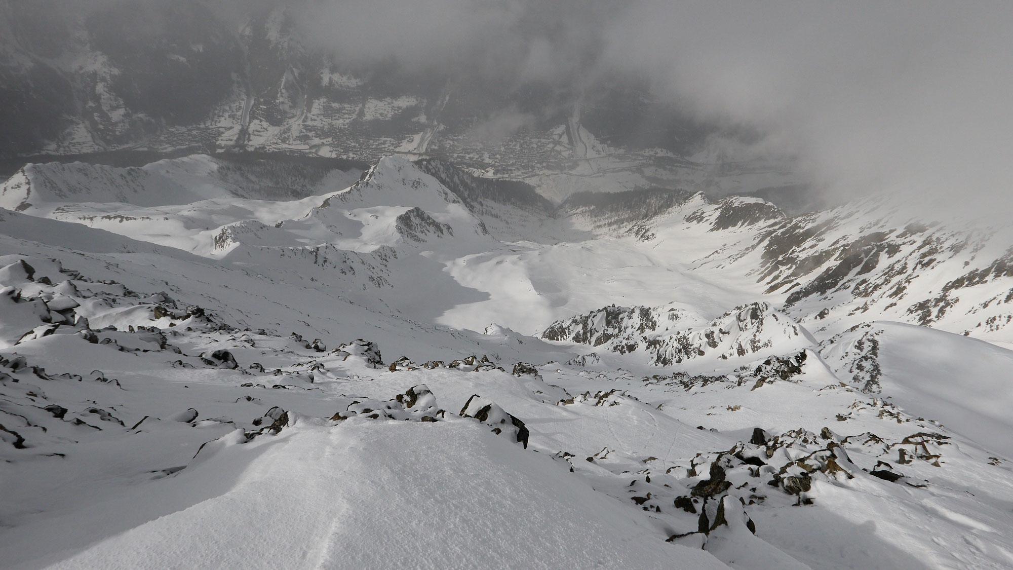Wilerhorn aus dem Lötschental