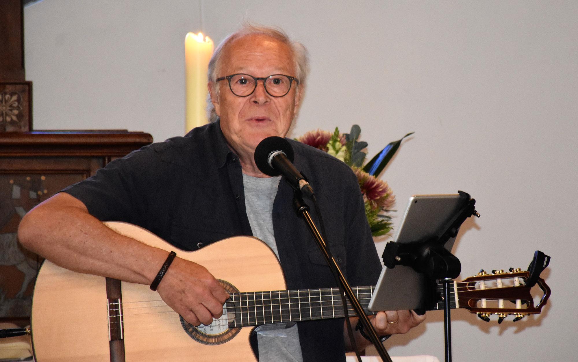 Musikalische Gottesdienste mit Jürgen Werth
