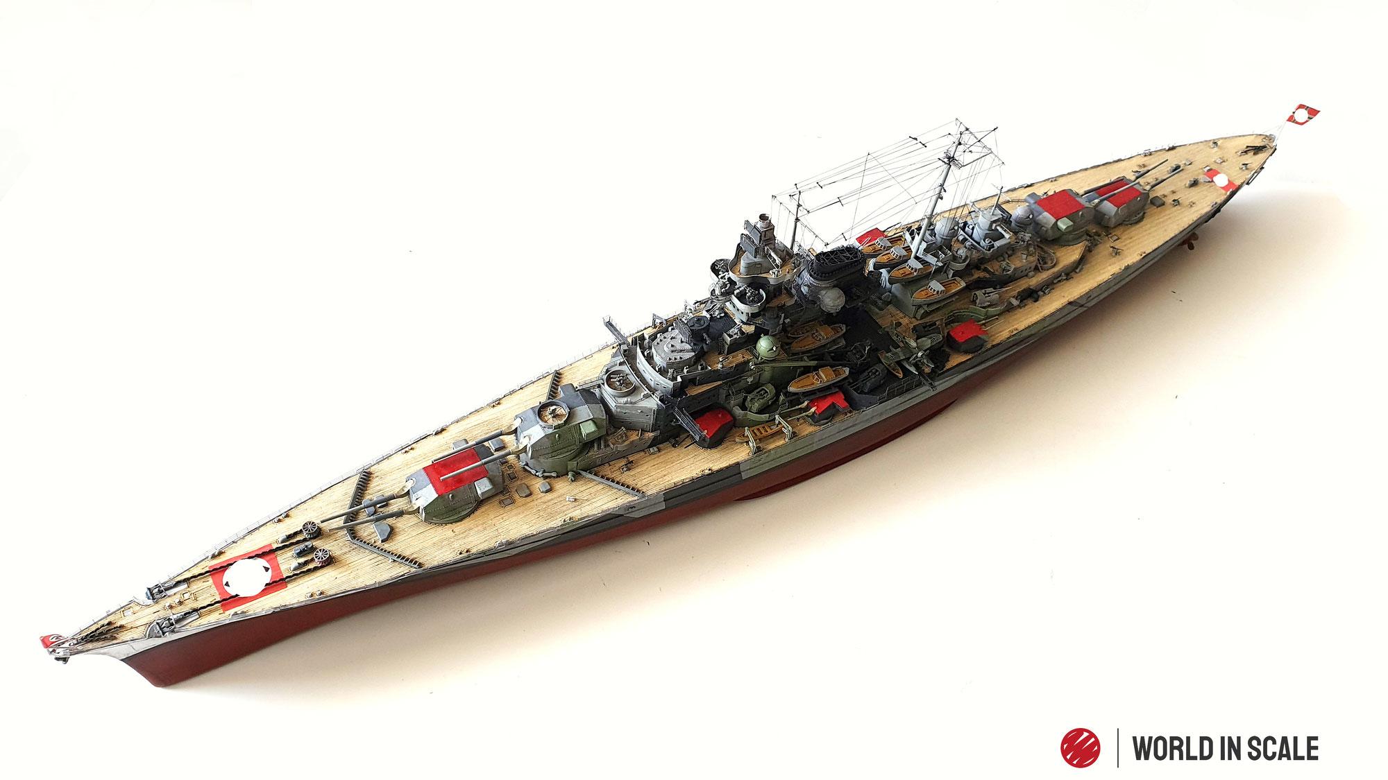 Schlachtschiff TIRPITZ - 1/350 of Revell (Platinum Edition)