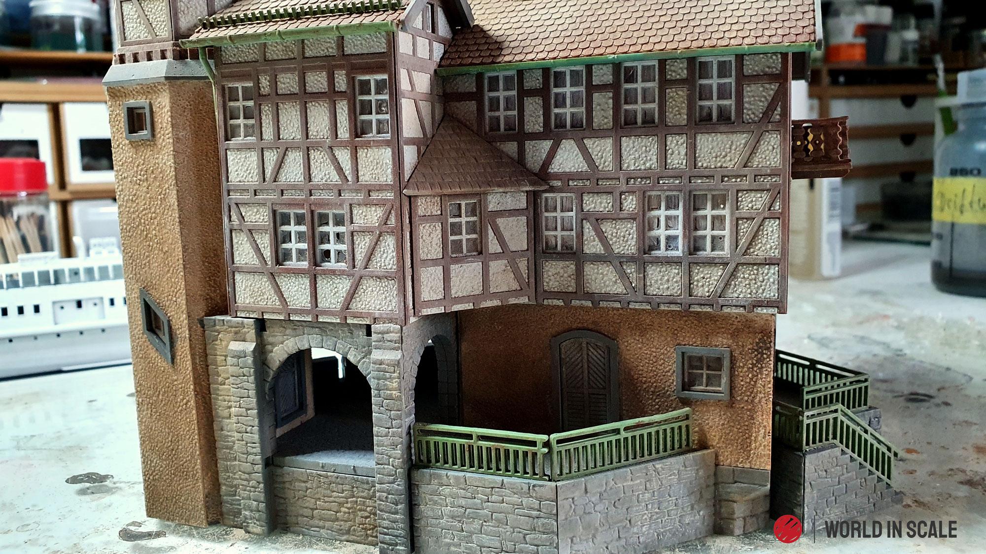 """Jagdschloss """"Falkeneck"""" - 1:87 of Gebr. Faller GmbH"""