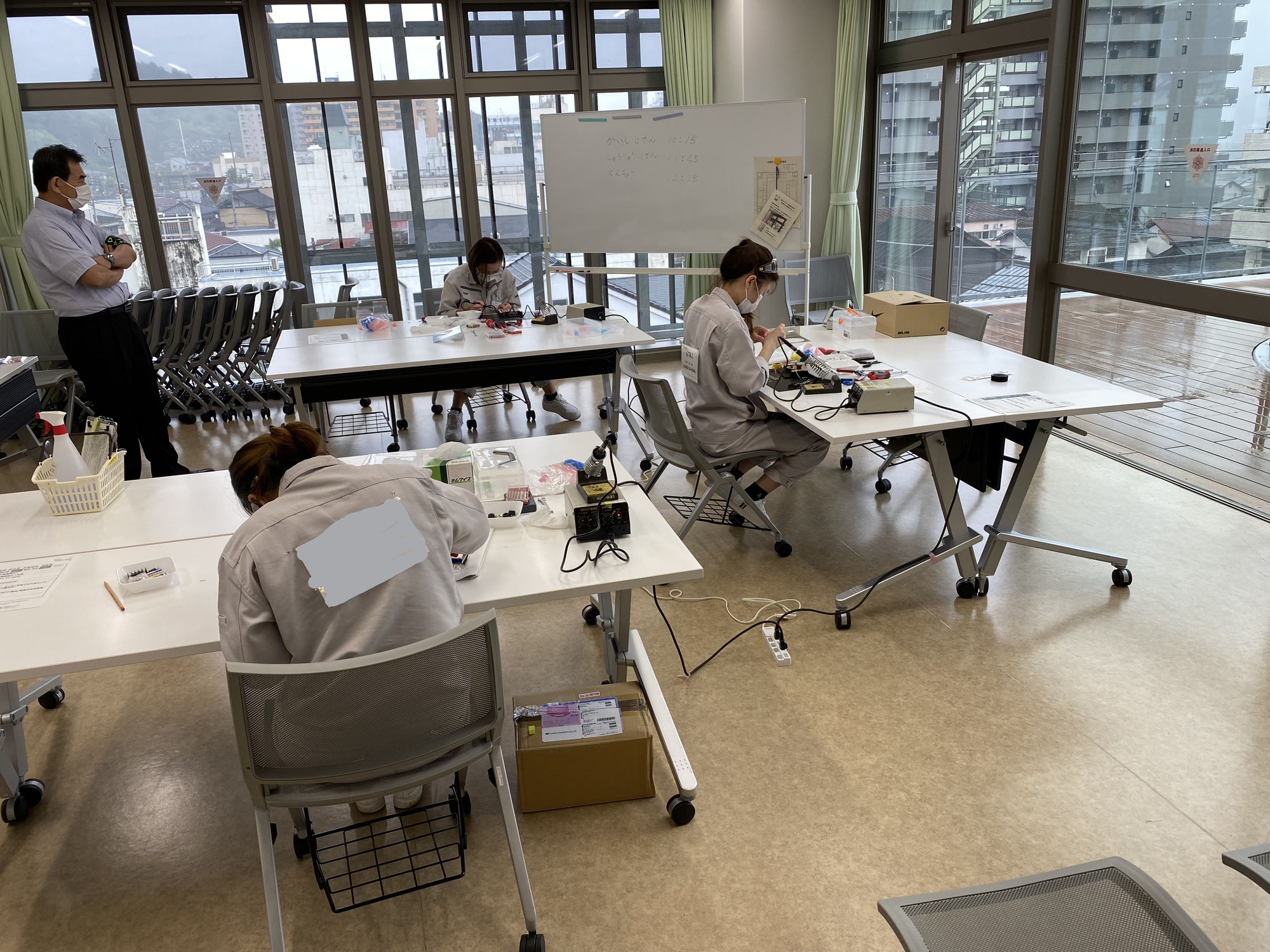 電子機器組立技能検定試験 随時3級を受験しました